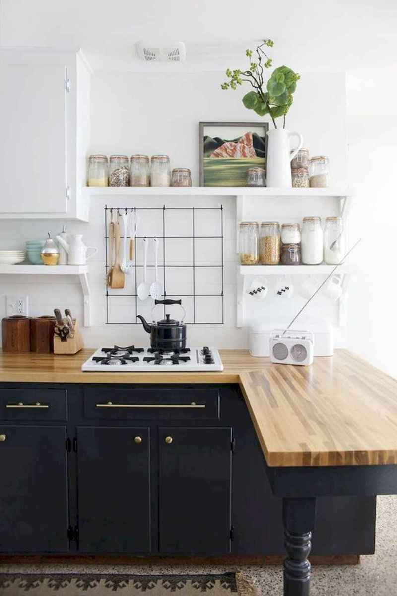 70 cool modern apartment kitchen decor ideas (37)