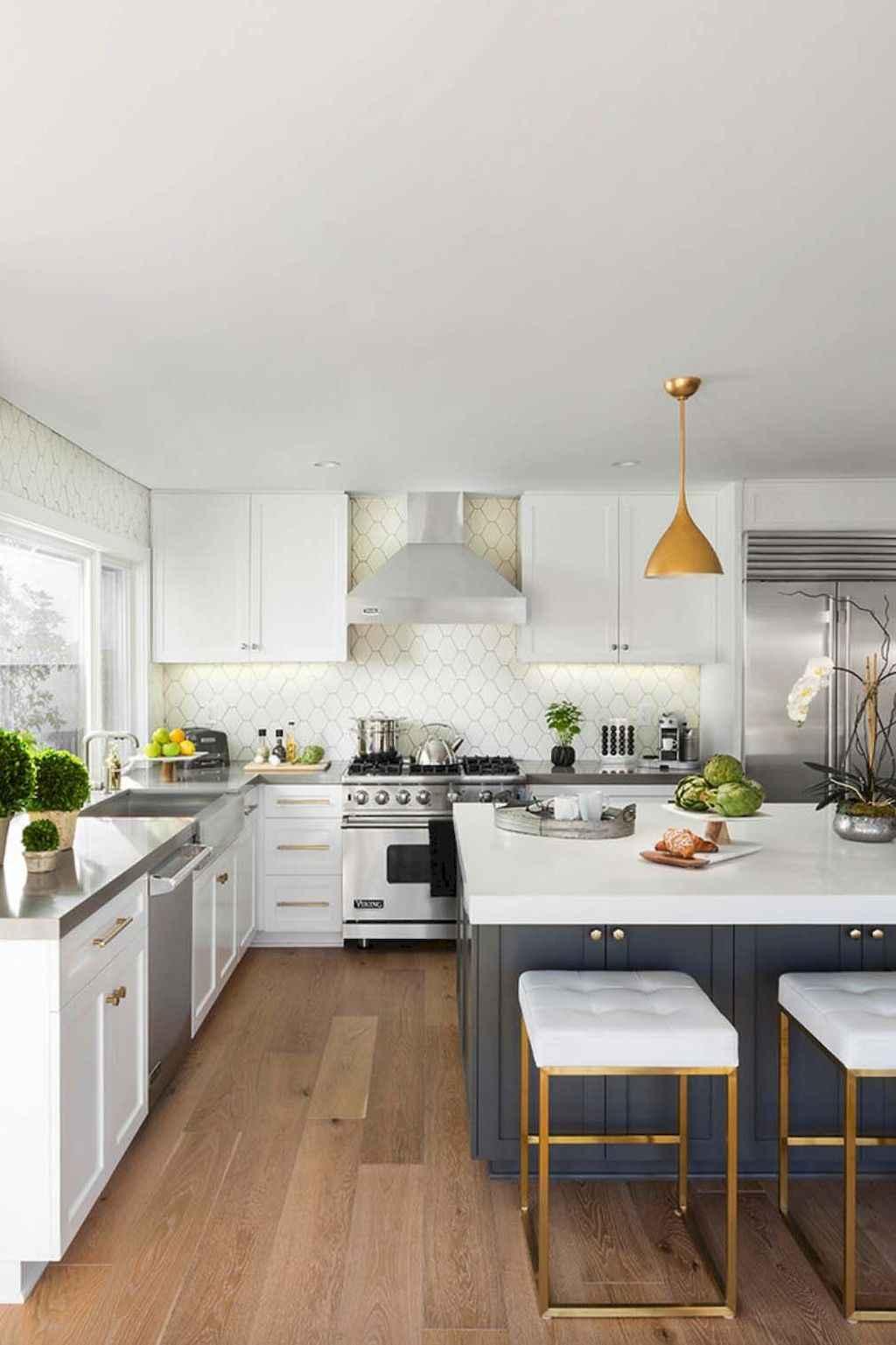 70 Cool Modern Apartment Kitchen Decor Ideas (54)