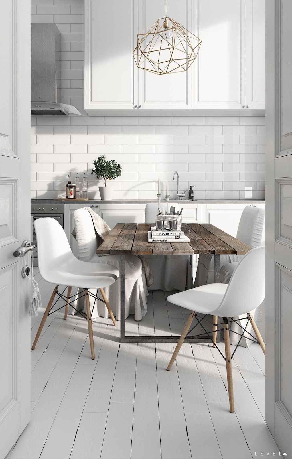 70 Cool Modern Apartment Kitchen Decor Ideas (66)