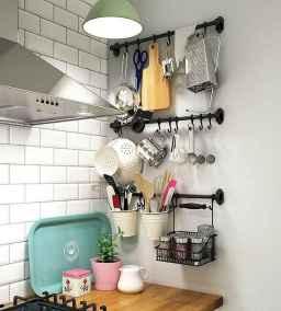 70 surprising apartment kitchen organization decor ideas (16)