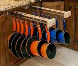 70 surprising apartment kitchen organization decor ideas (42)