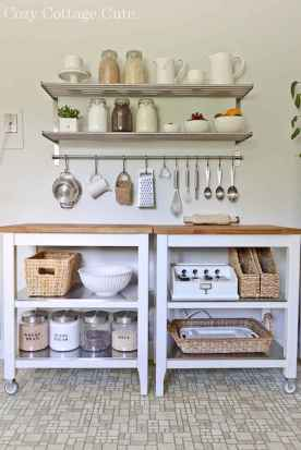 70 surprising apartment kitchen organization decor ideas (60)