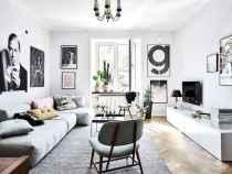80 smart solution small apartment living room decor ideas (11)