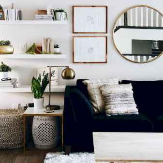 80 smart solution small apartment living room decor ideas (19)