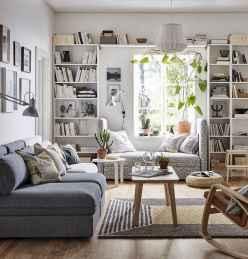80 smart solution small apartment living room decor ideas (22)