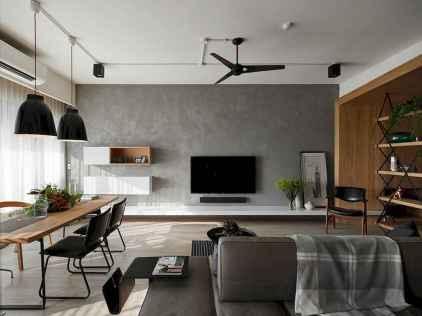 80 smart solution small apartment living room decor ideas (34)