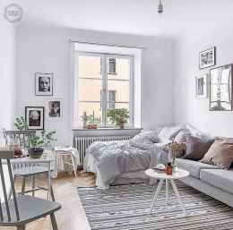 80 smart solution small apartment living room decor ideas (60)
