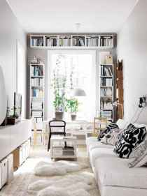 80 smart solution small apartment living room decor ideas (7)