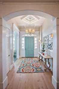 90 awesome front door farmhouse entrance decor ideas (31)