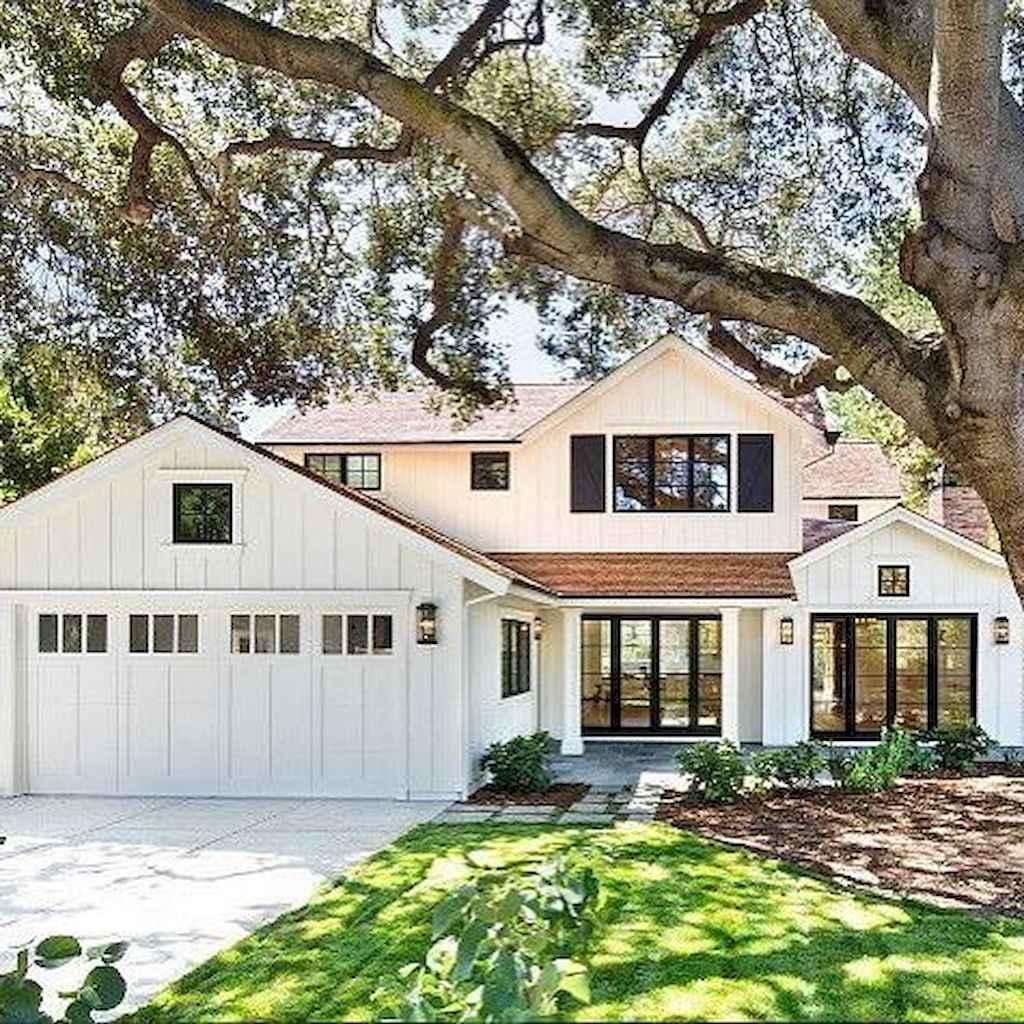 Modern Home Exterior Design Ideas 2017: 90 Incredible Modern Farmhouse Exterior Design Ideas (5