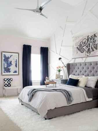 90 stunning modern master bedroom decor ideas (86)