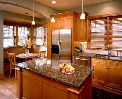 100 best oak kitchen cabinets ideas decoration for farmhouse style (104)