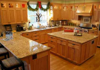 100 best oak kitchen cabinets ideas decoration for farmhouse style (19)