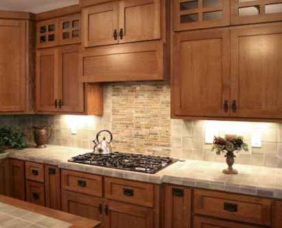 100 best oak kitchen cabinets ideas decoration for farmhouse style (34)