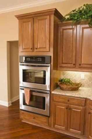100 best oak kitchen cabinets ideas decoration for farmhouse style (39)