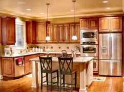 100 best oak kitchen cabinets ideas decoration for farmhouse style (44)