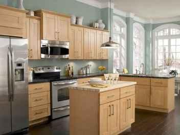 100 best oak kitchen cabinets ideas decoration for farmhouse style (61)