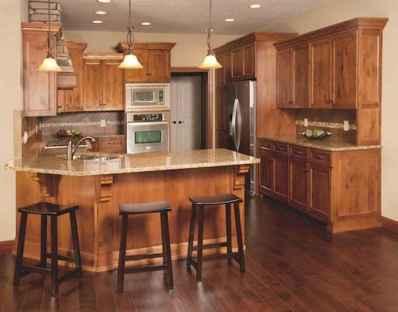 100 best oak kitchen cabinets ideas decoration for farmhouse style (9)