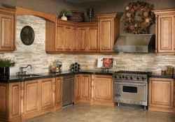 100 best oak kitchen cabinets ideas decoration for farmhouse style (96)