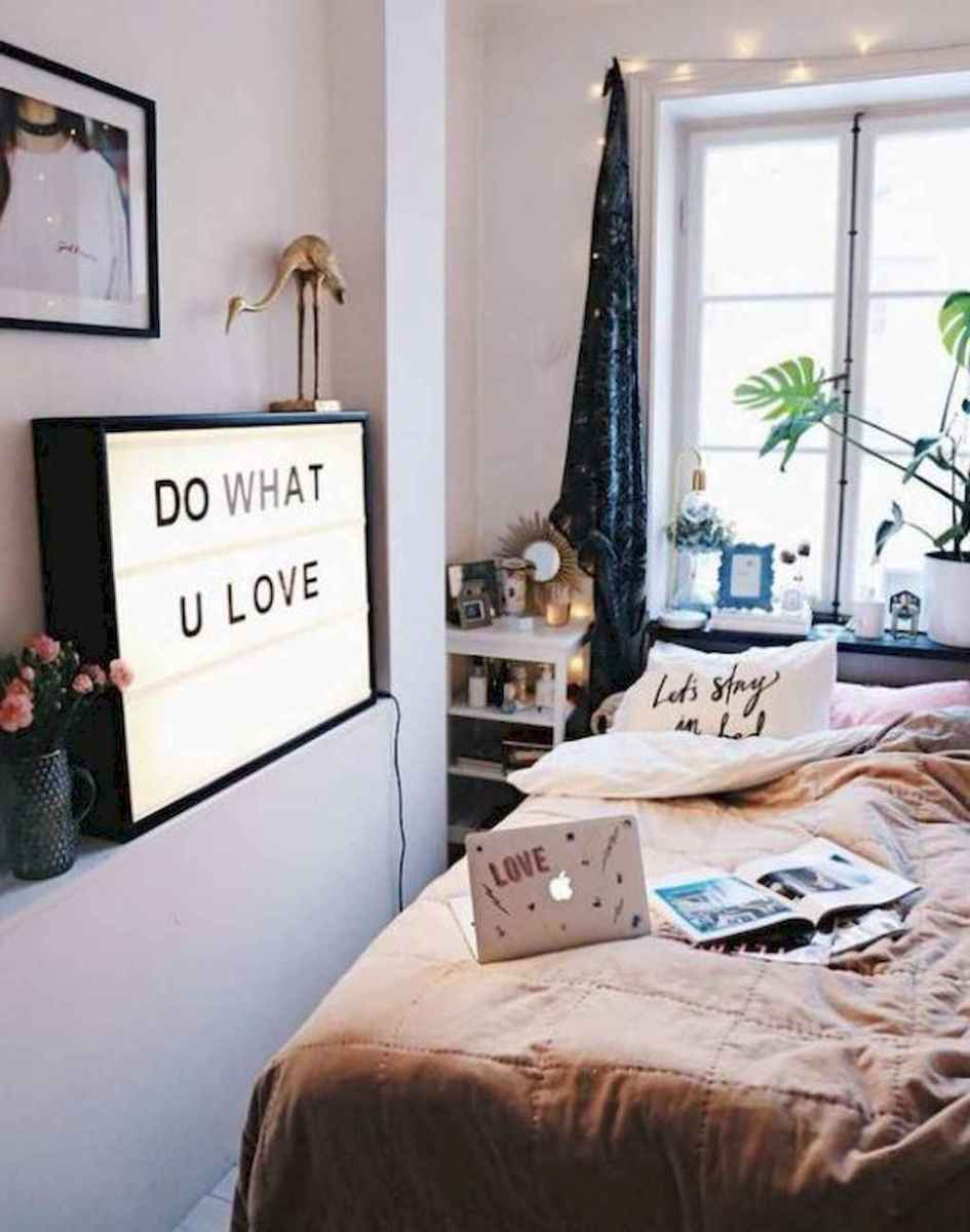 100+ cute loft beds college dorm room design ideas for girl (1)