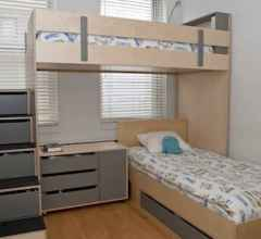 100+ cute loft beds college dorm room design ideas for girl (102)