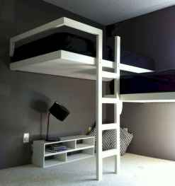 100+ cute loft beds college dorm room design ideas for girl (105)