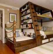 100+ cute loft beds college dorm room design ideas for girl (109)