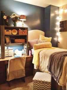 100+ cute loft beds college dorm room design ideas for girl (34)