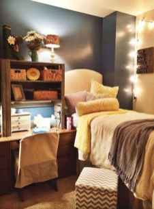 100+ cute loft beds college dorm room design ideas for girl (34)