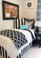 100+ cute loft beds college dorm room design ideas for girl (38)