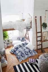 100+ cute loft beds college dorm room design ideas for girl (66)
