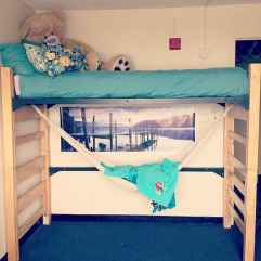 100+ cute loft beds college dorm room design ideas for girl (86)