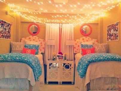 100+ cute loft beds college dorm room design ideas for girl (91)