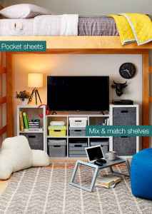 100+ cute loft beds college dorm room design ideas for girl (98)