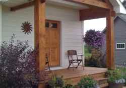 110 best farmhouse porch decor ideas (82)