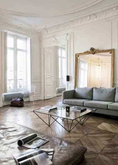 111 awesome parisian chic apartment decor ideas (32)