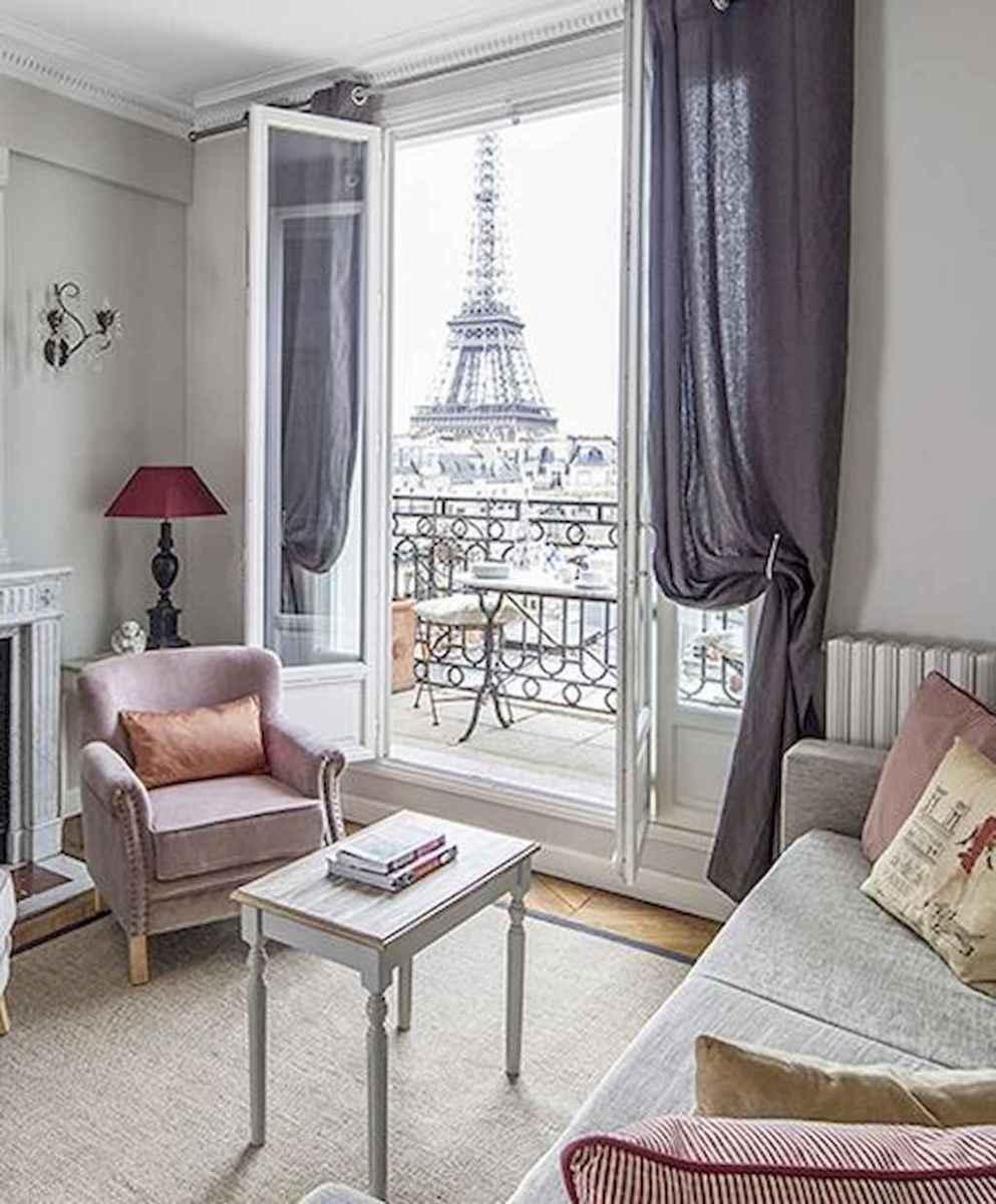 111 awesome parisian chic apartment decor ideas (66)
