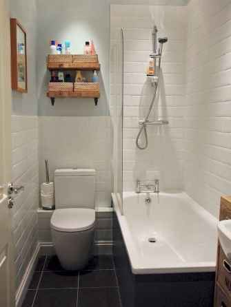 111 small bathroom remodel on a budget for first apartment ideas (48)