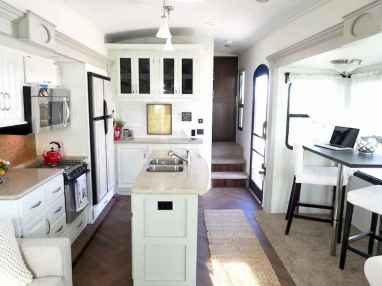 40 top rv 5th wheels kitchen hacks makeover and renovations tips ideas to make your road trips awesome (28)