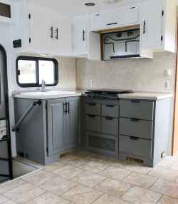 40 top rv 5th wheels kitchen hacks makeover and renovations tips ideas to make your road trips awesome (29)