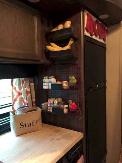 40 top rv 5th wheels kitchen hacks makeover and renovations tips ideas to make your road trips awesome (41)