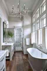 50 best farmhouse bathroom tile remodel ideas (9)