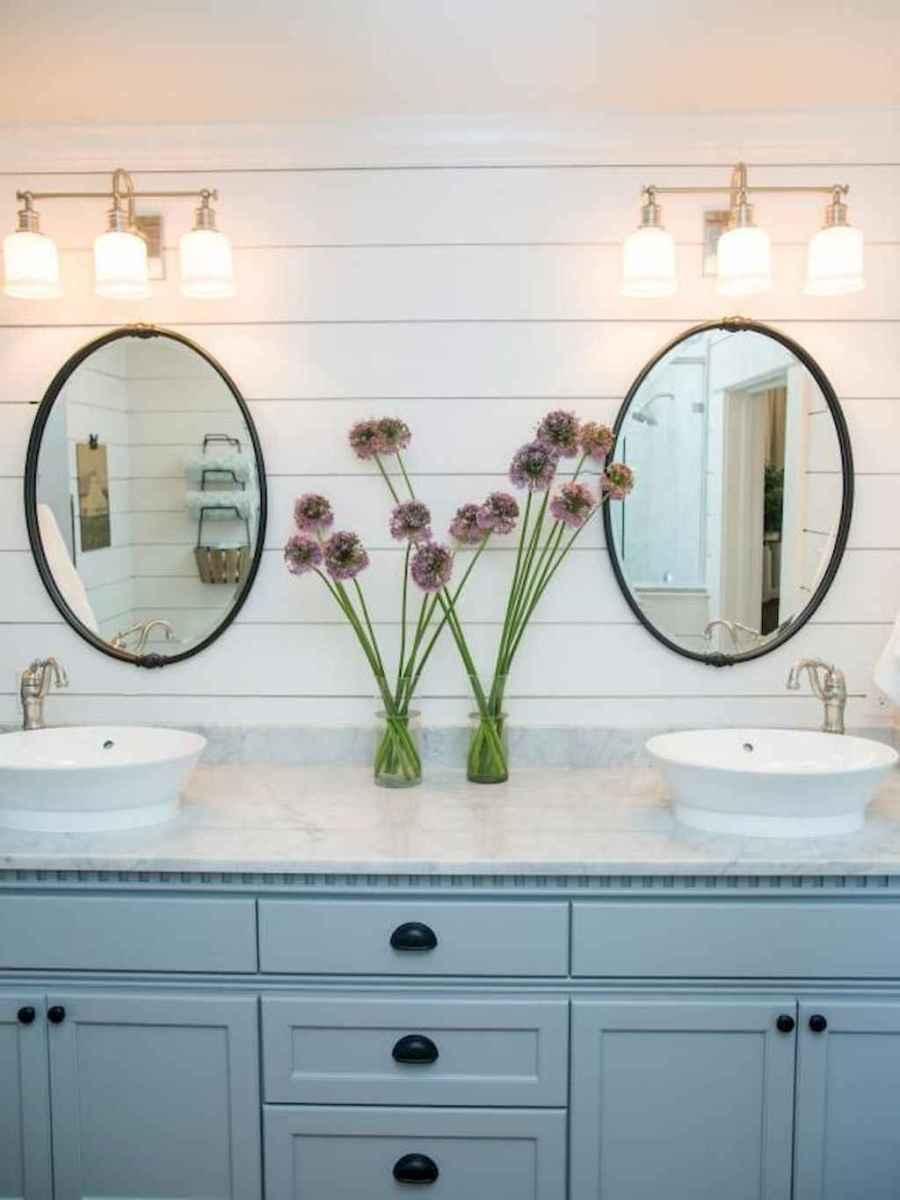 50 best farmhouse bathroom vanity remodel ideas (121)