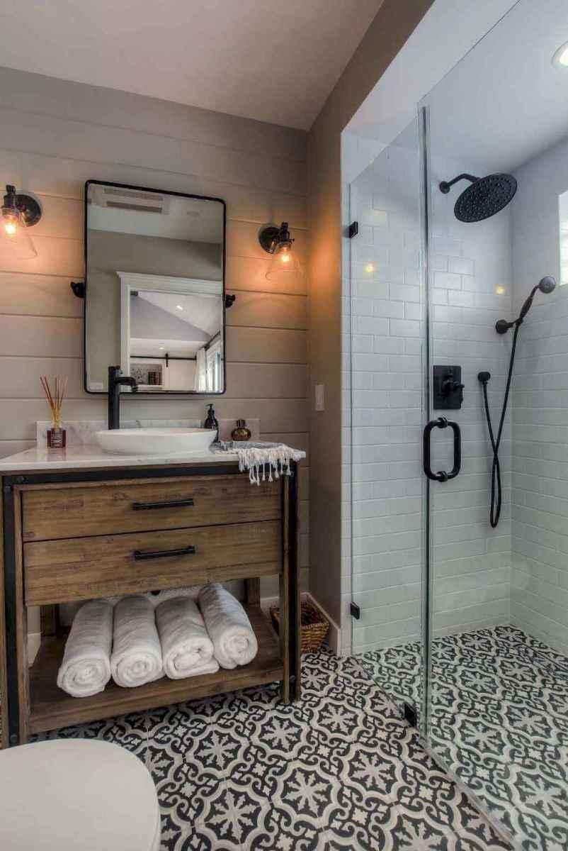 50 best farmhouse bathroom vanity remodel ideas (21)