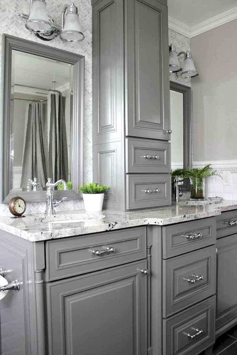 50 best farmhouse bathroom vanity remodel ideas (53)