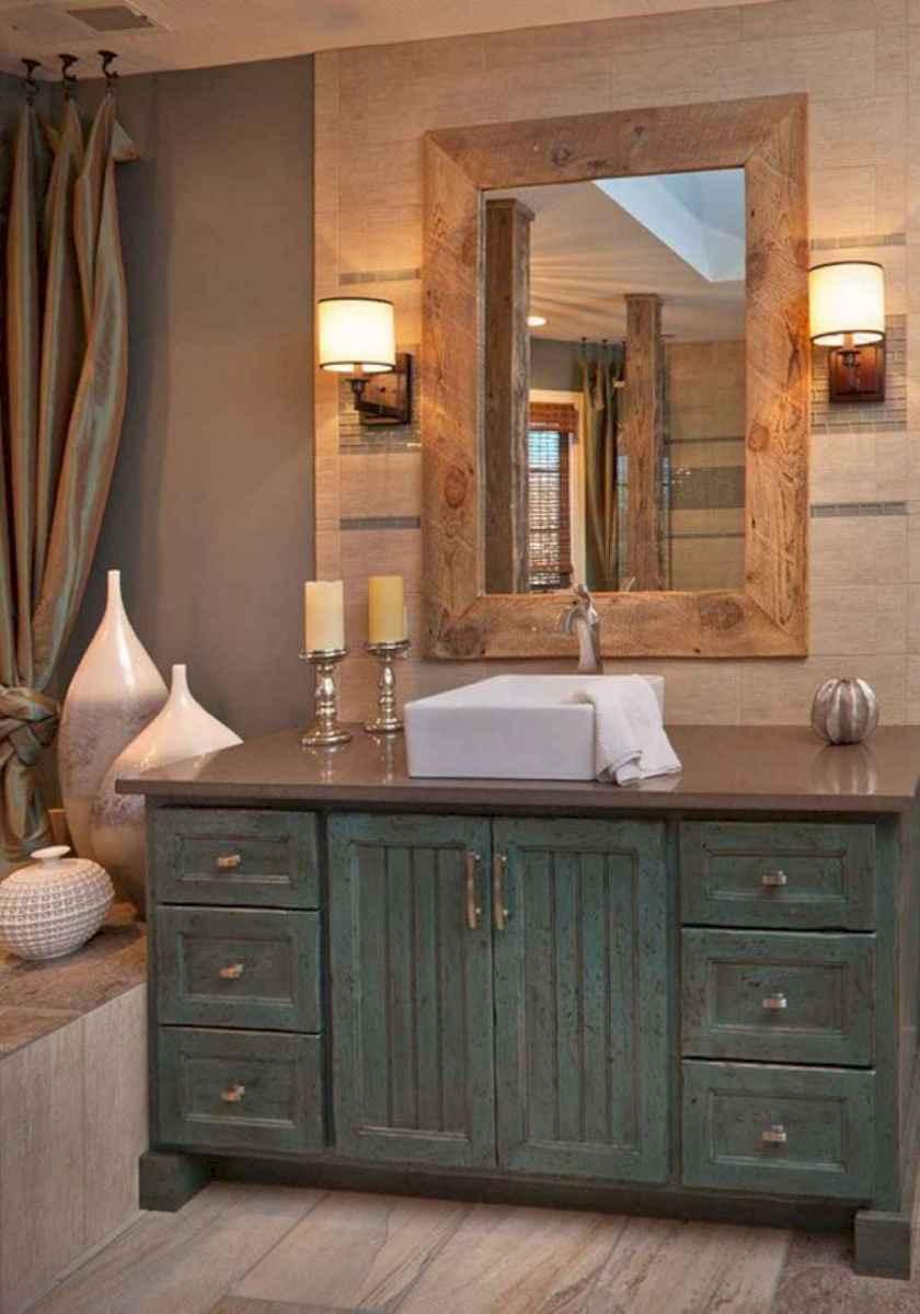 50 best farmhouse bathroom vanity remodel ideas (66)