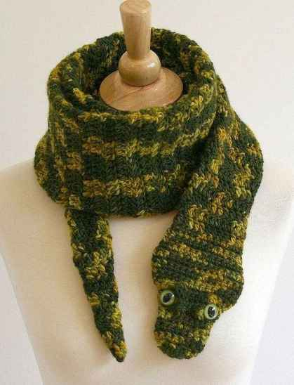 50 easy diy crochet animal scarf ideas for beginner (26)