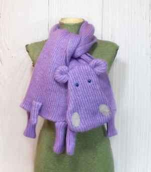 50 easy diy crochet animal scarf ideas for beginner (6)