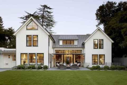 60 rustic farmhouse exterior decor ideas (47)