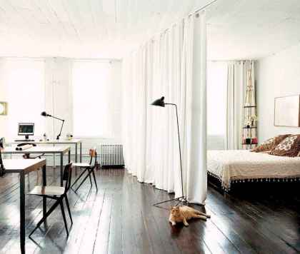 65 best studio apartment decorating ideas (48)